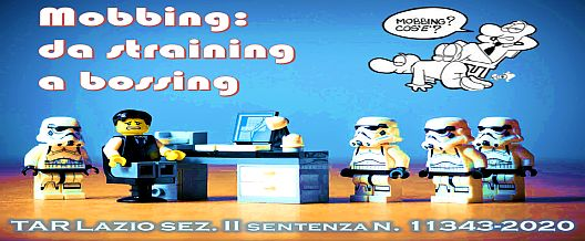 Mobbing: da straining a bossing